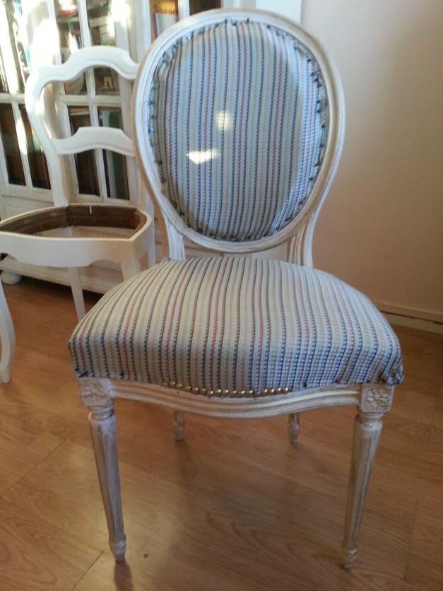 chaise m daillon louis xvi en cours de restauration maiteplatero. Black Bedroom Furniture Sets. Home Design Ideas